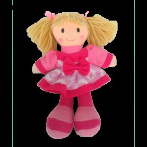 Muñeca rosa 22cm