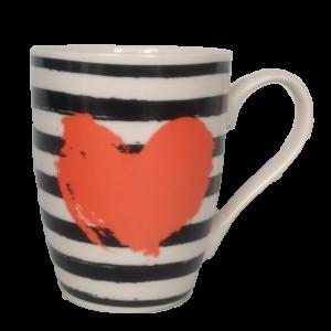 Mug Corazón 10cm