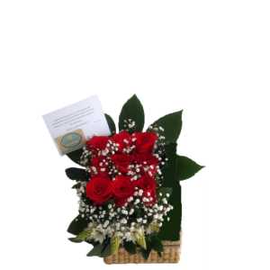 Caja 6 o 9 Rosas