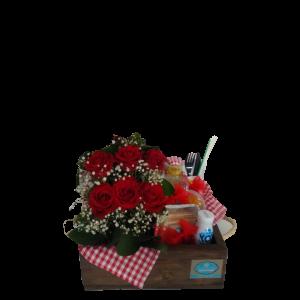 Lindos Rosas Desayuno o Refrigerio